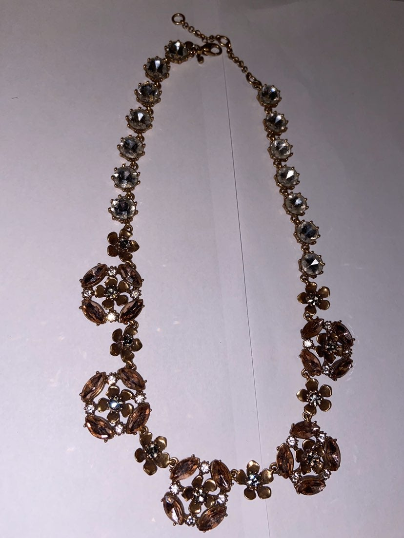 Ann Taylor Formal Costume Necklace