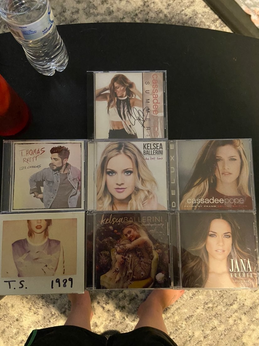 Pop/Country CD Lot