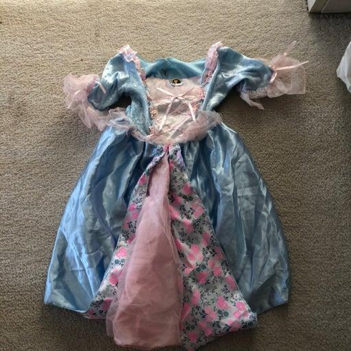 Barbie princess dress up size 4-6x