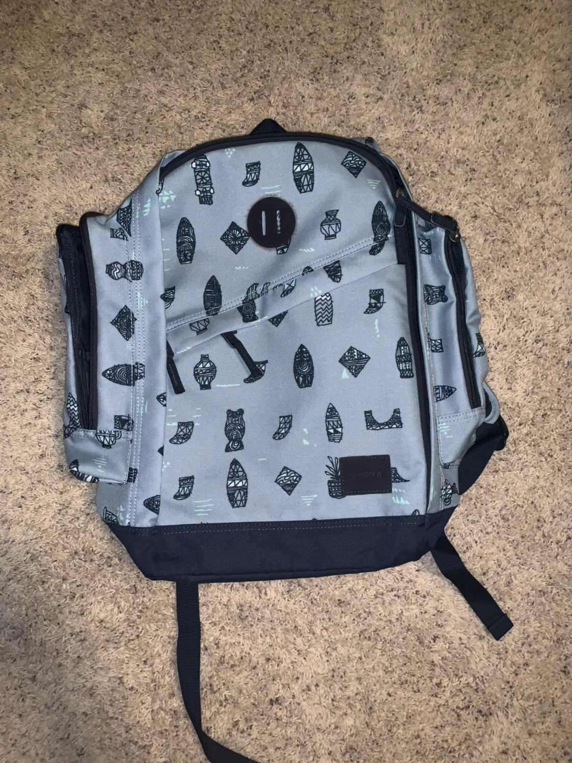 Nixon watch backpack