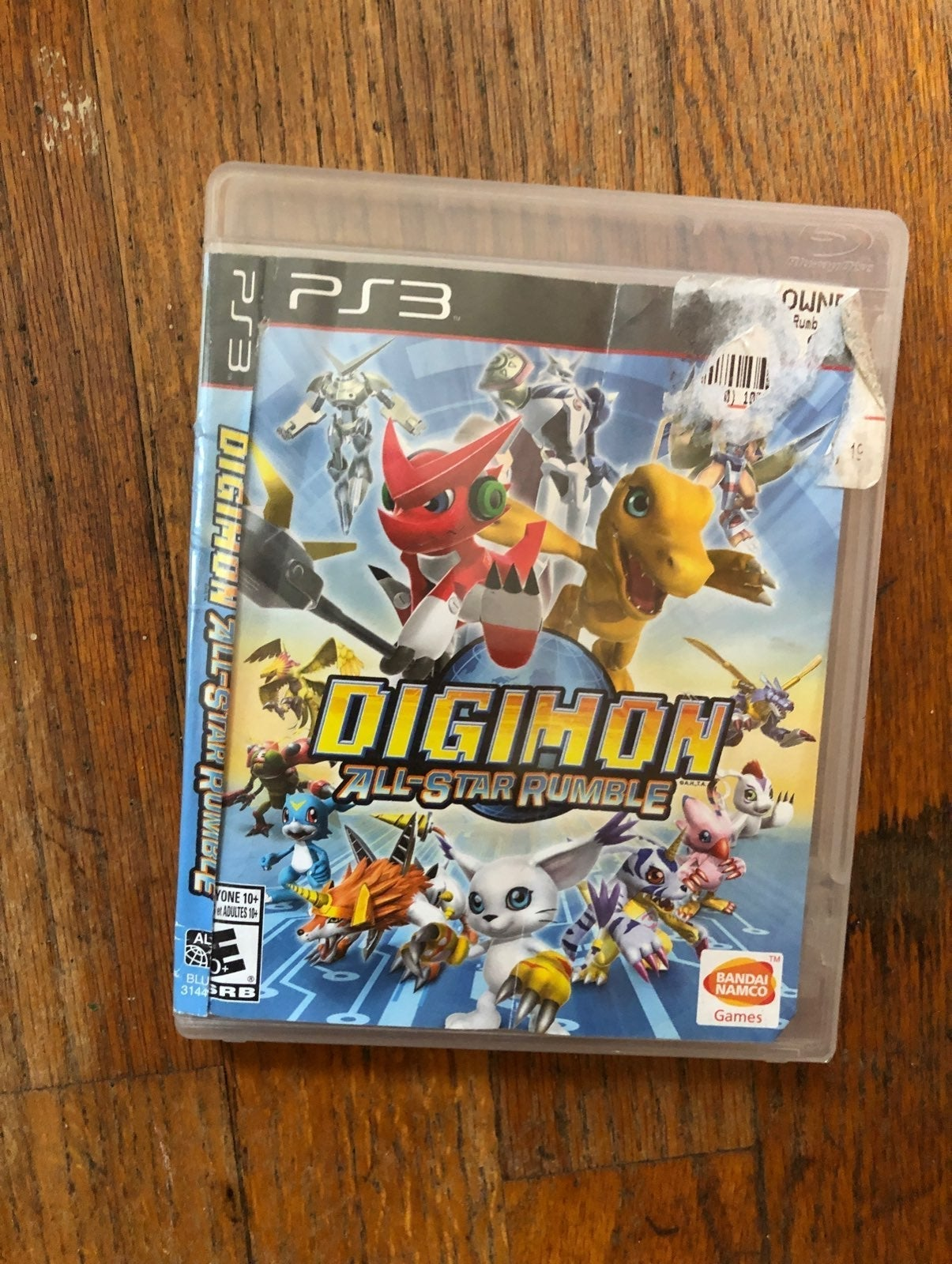 Digimon All-Star Rumble PS3 Video Game