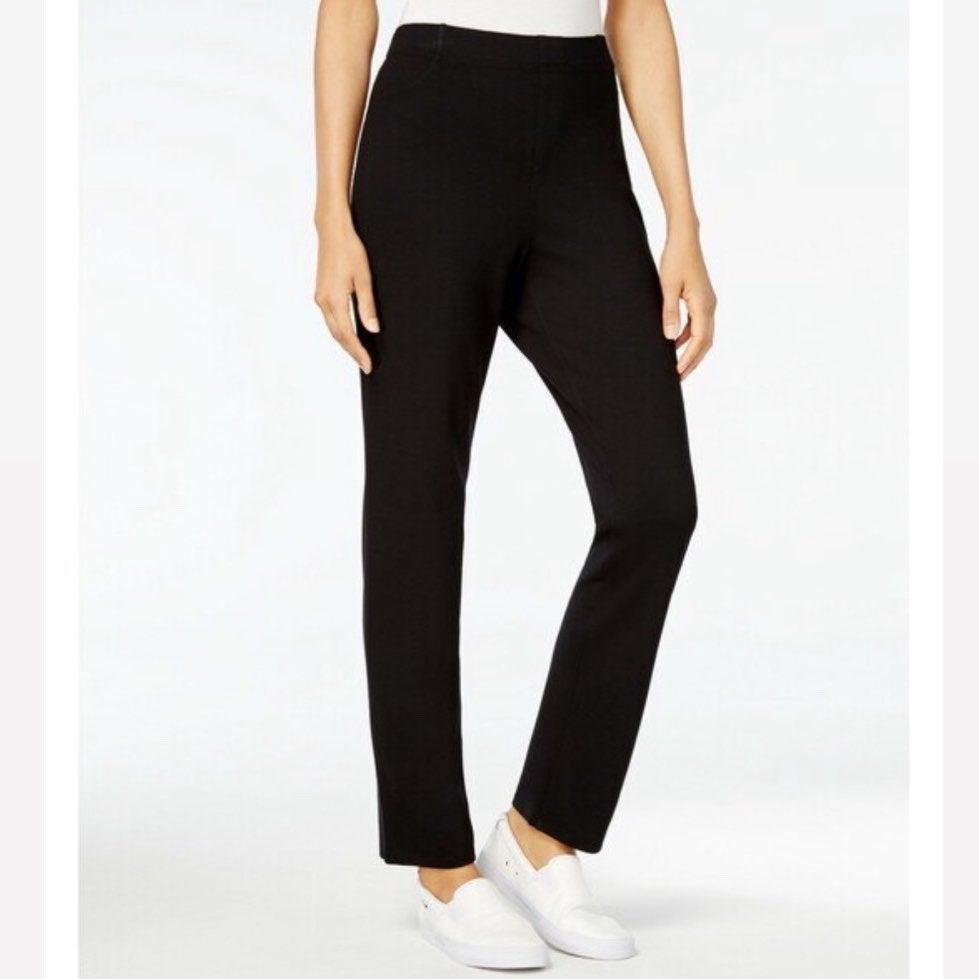 Karen Scott Women's Comfort Pull-On Pant