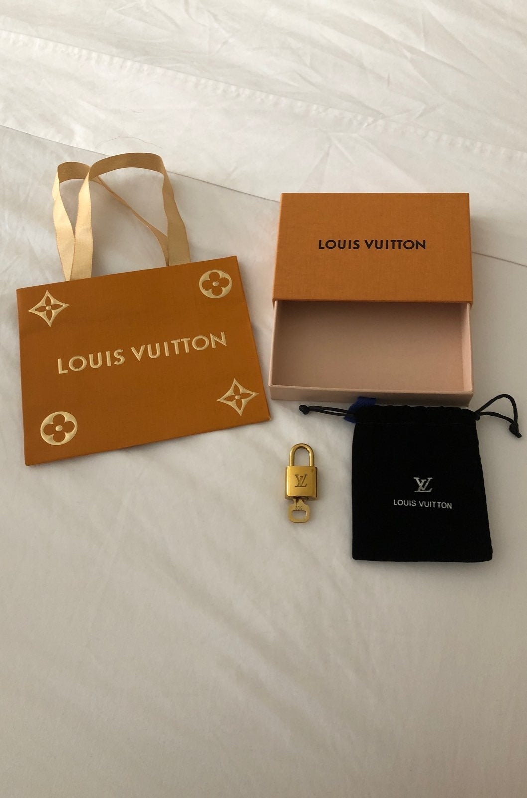 authentic Louis Vuitton lock