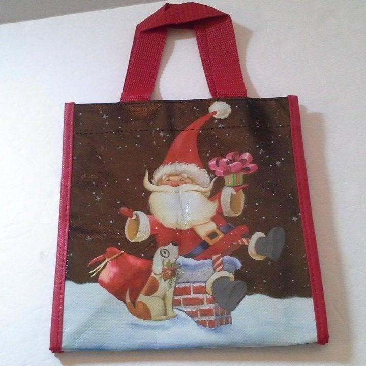 Lock & Lock Santa Claus Small Tote Bag
