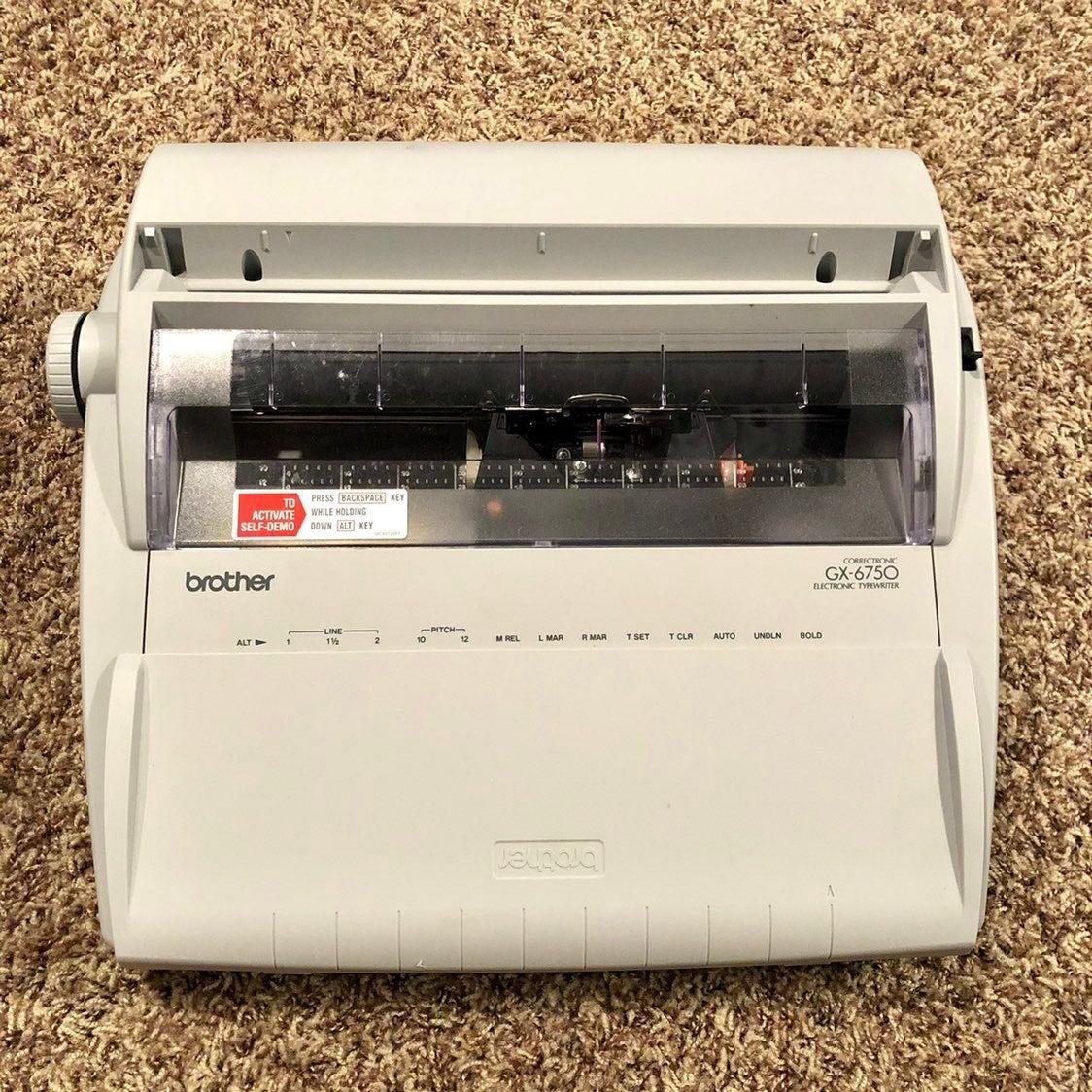 Brother GX-6750 Electronic Typewriter
