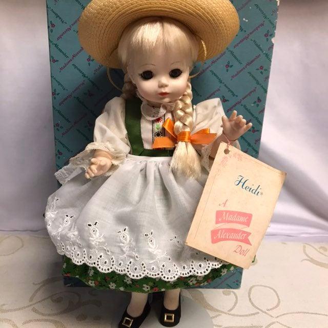 "Madame Alexander, Heidi 14"" Doll"