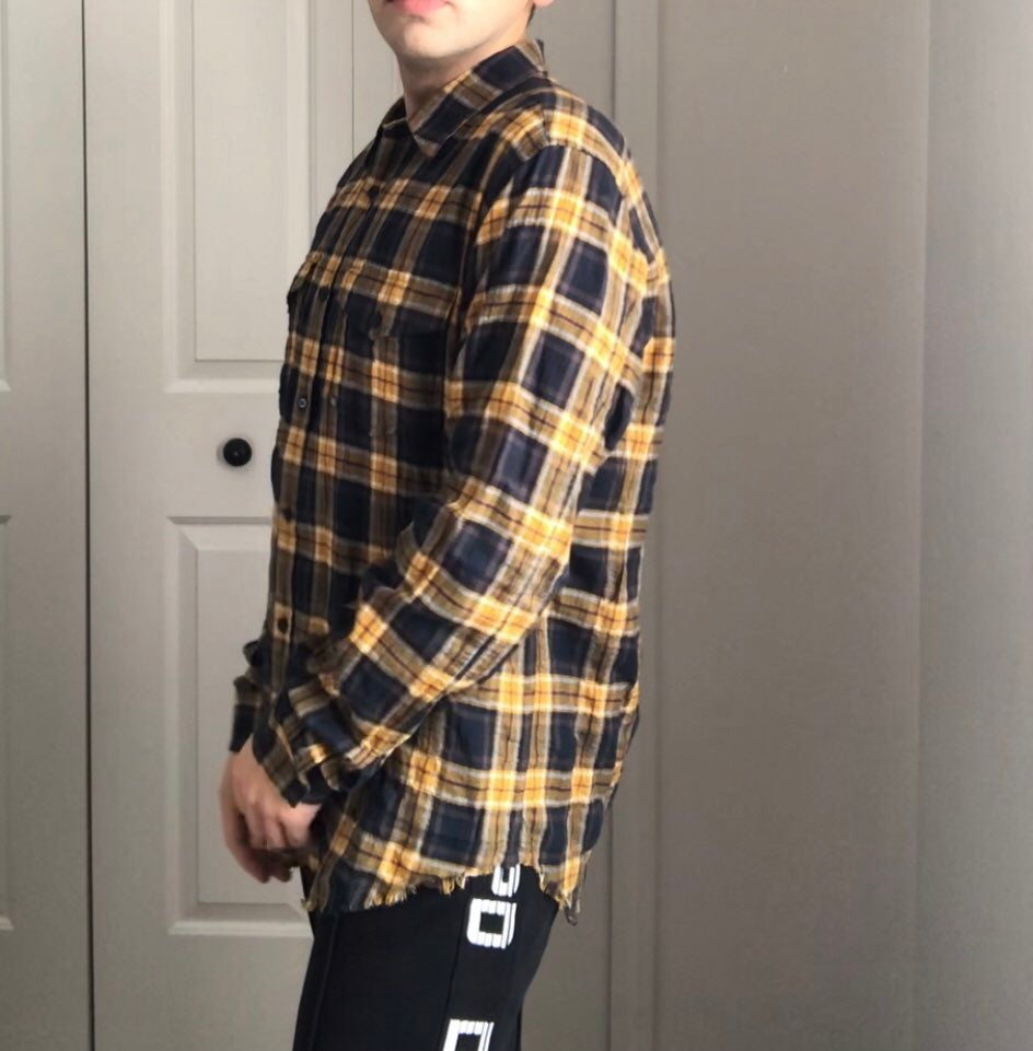 VINCE flannel shirt