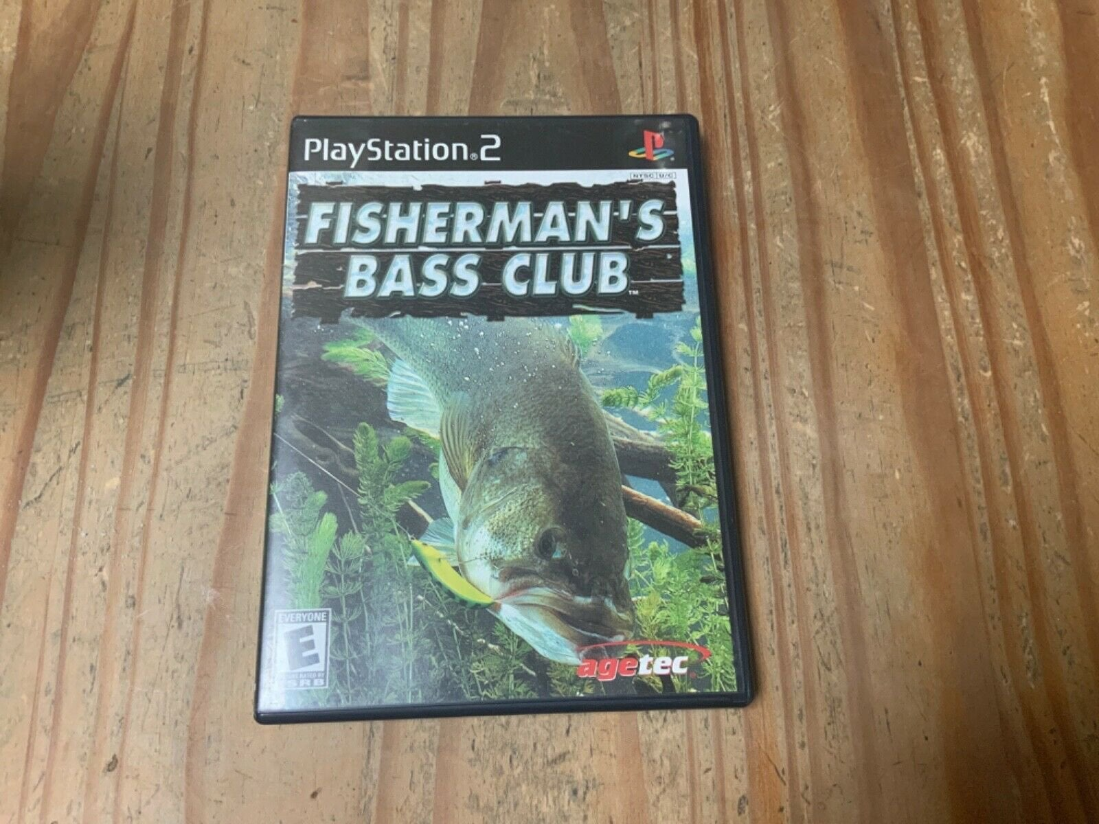 Fisherman's Bass Club PS2 Complete