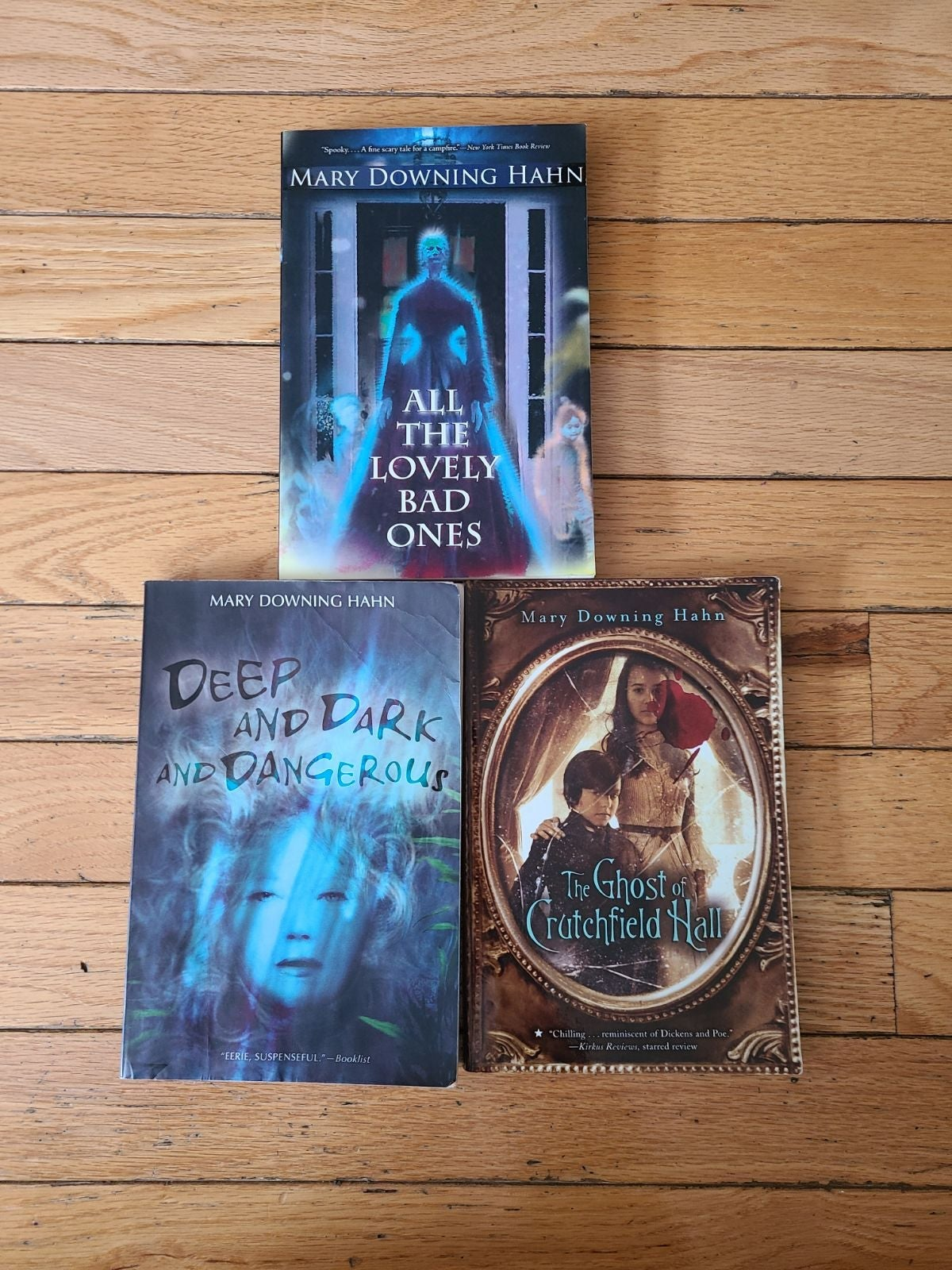 Mary Downing Hahn Book Lot