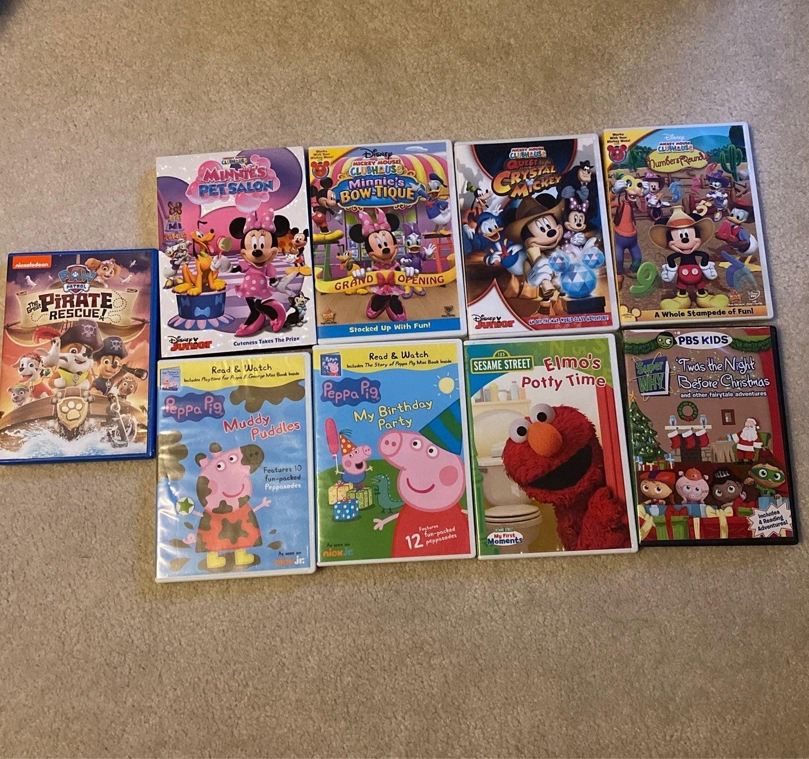 Toddler DVD Bundle