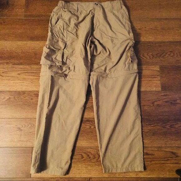 Dakota Grizzly zipoff pants to shorts