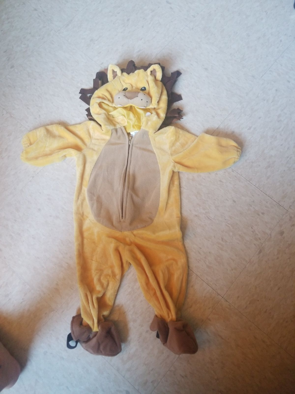 Baby Lion Costume 12mns