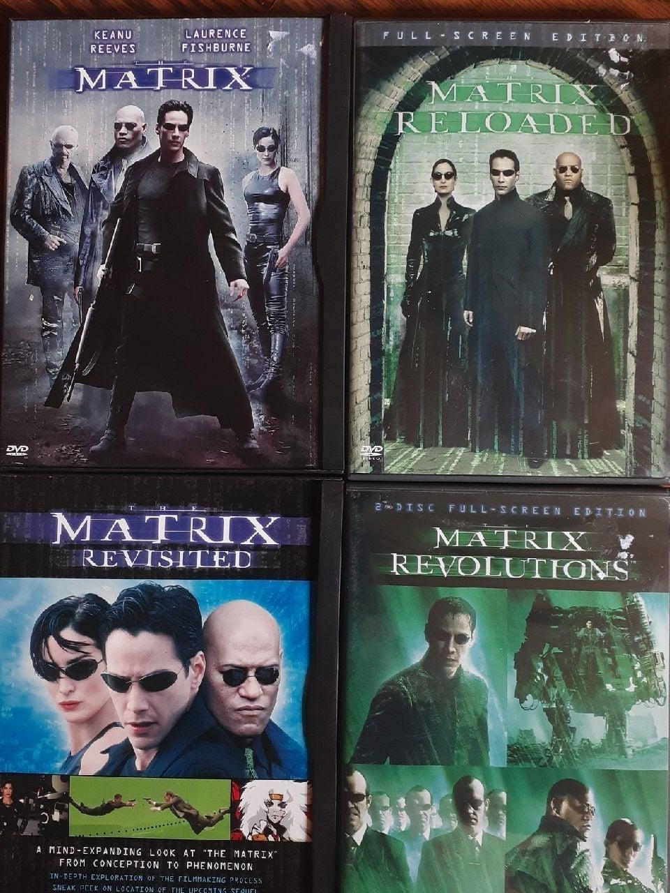 The complete Matrix DVD set
