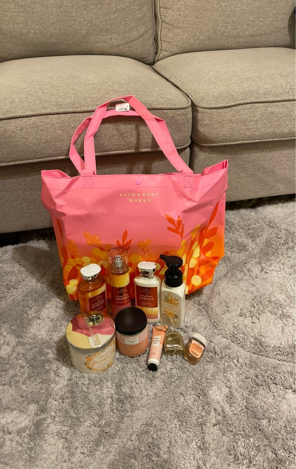 Bath Body Works Mother's Day Tote Bundle