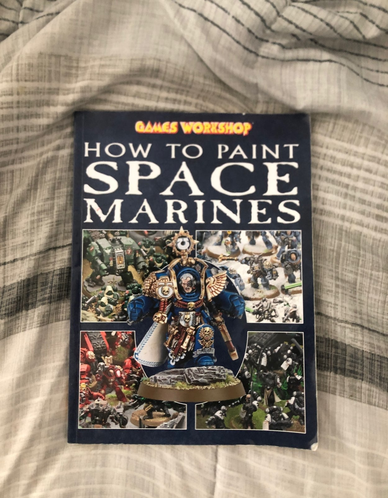 warhammer how to paint space marines plu