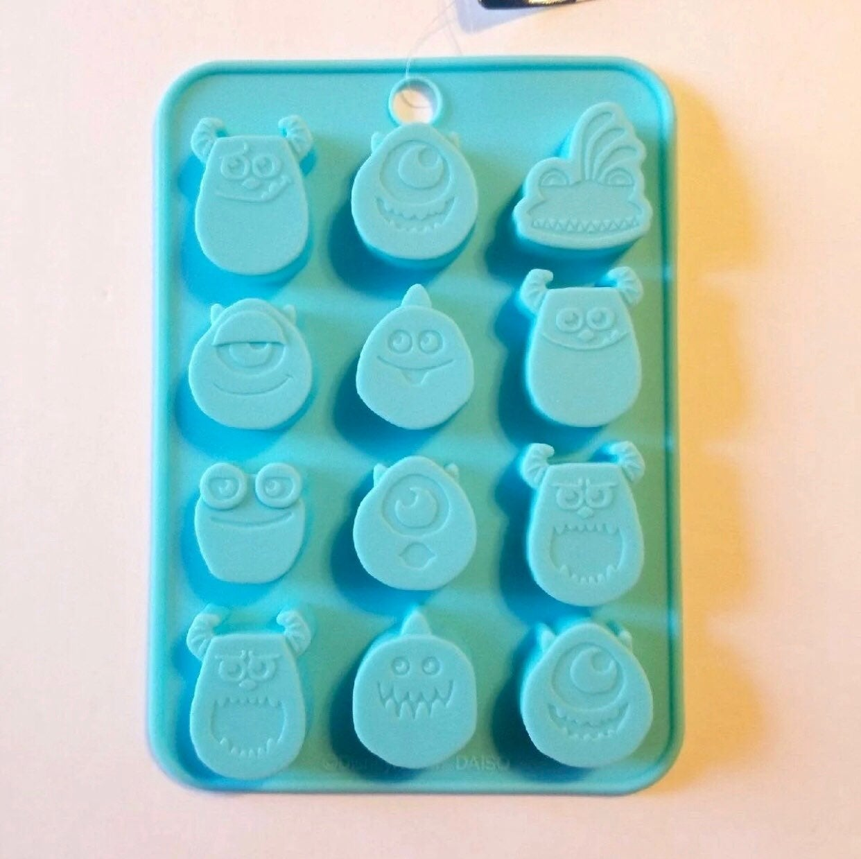 DISNEY MONSTERS INC SILICONE MOLD