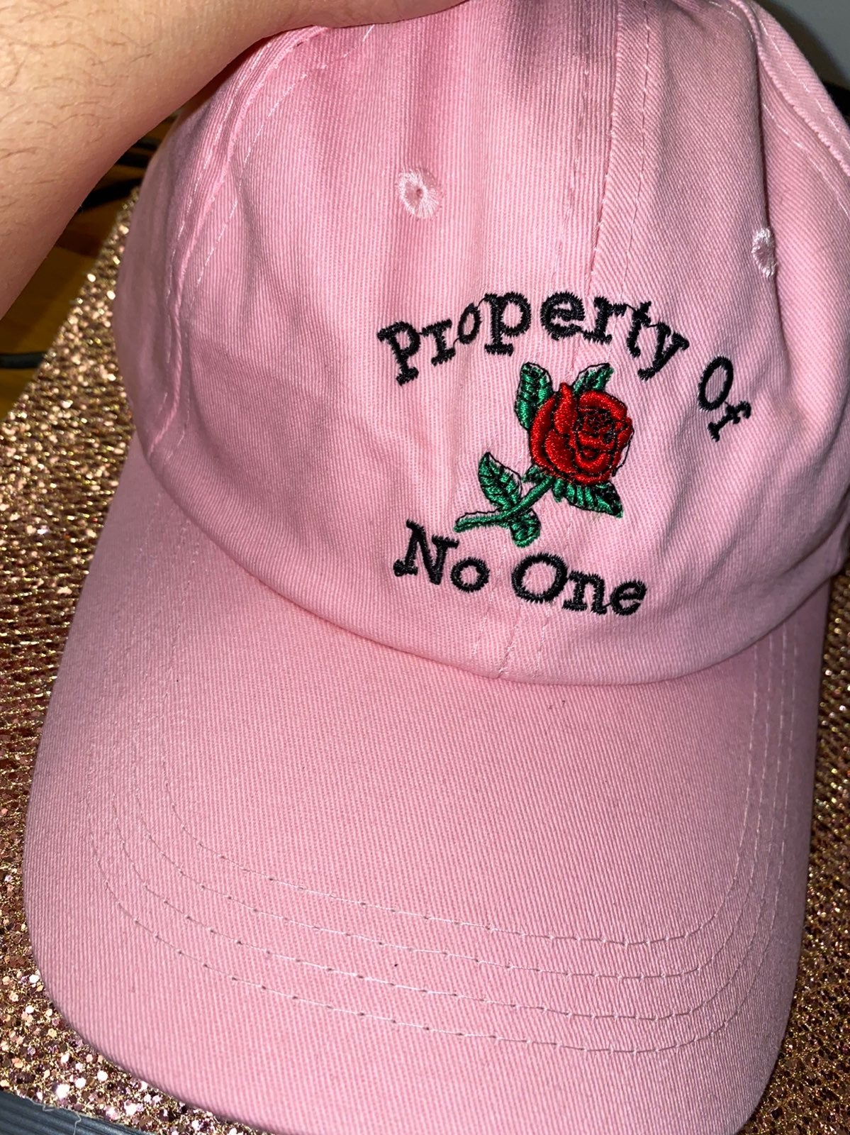 PROPERTY OF NOONE DAD HAT