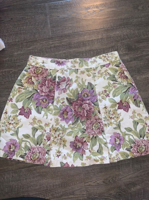 Vintage Bongo Womens Floral skirt