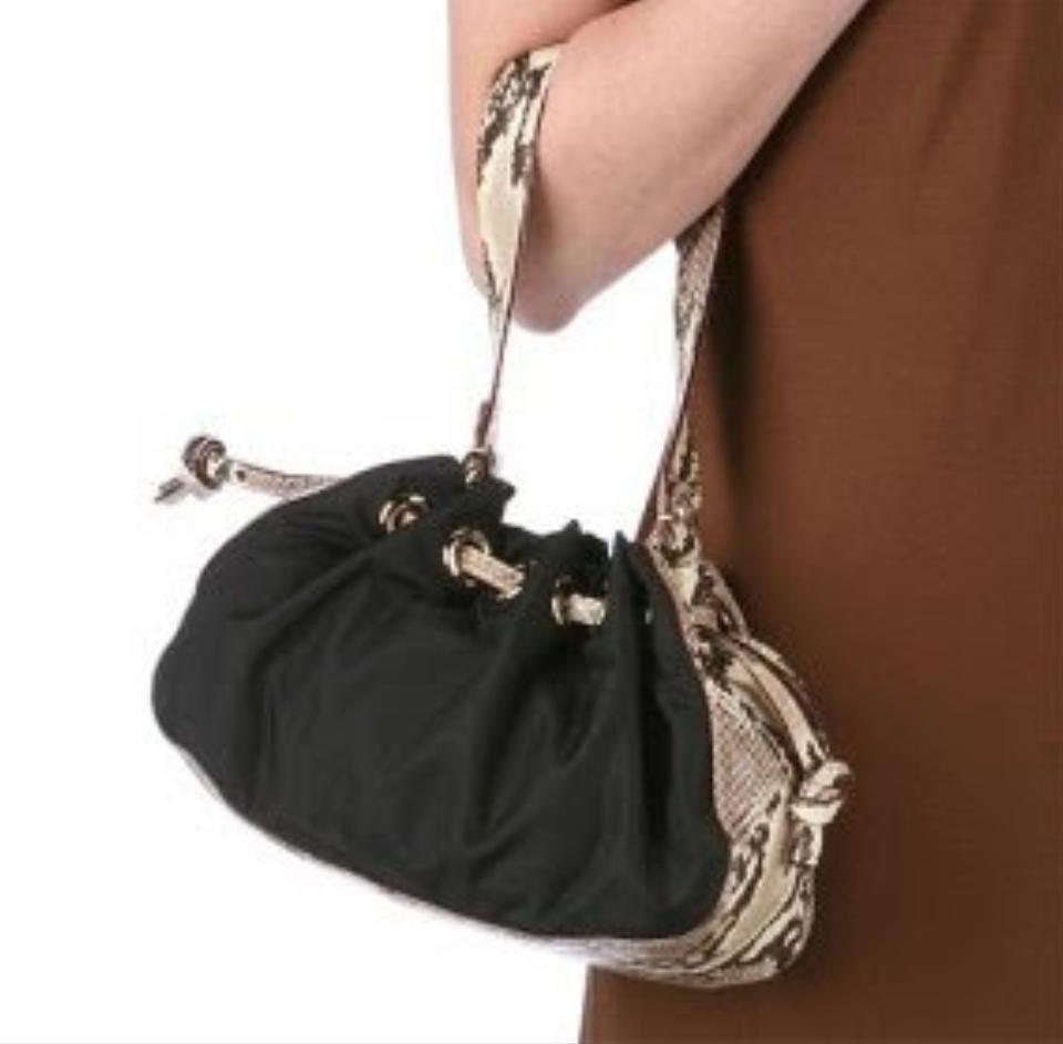 Kate Spade Snake Leather Trim Handbag