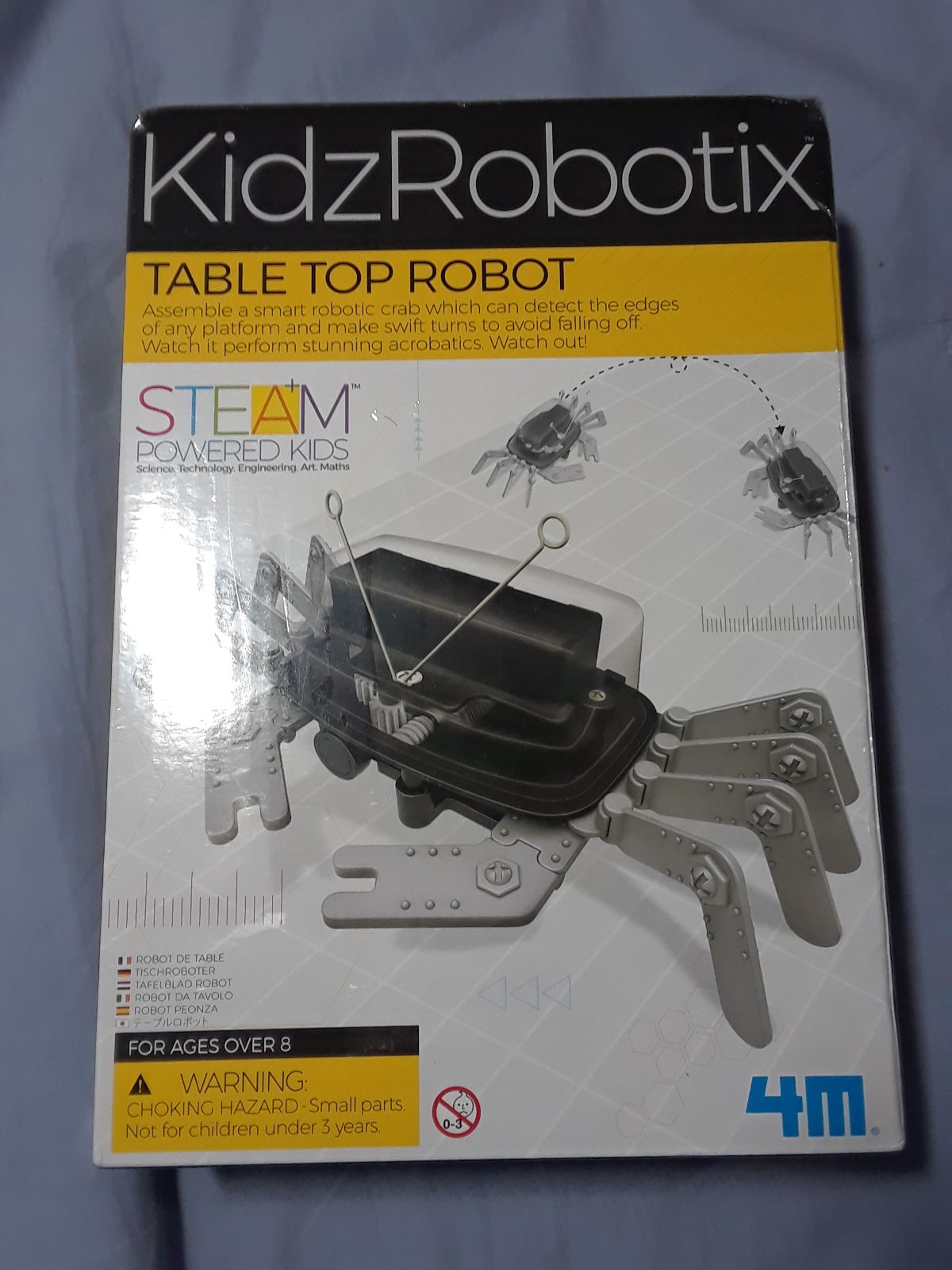 KIDZROBOTIX, TABLE TOP ROBOT KIT. SMART
