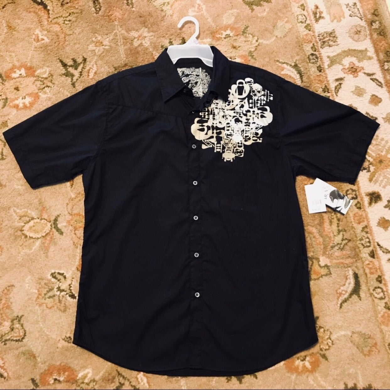 mens's Sapphire Lounge Shirt