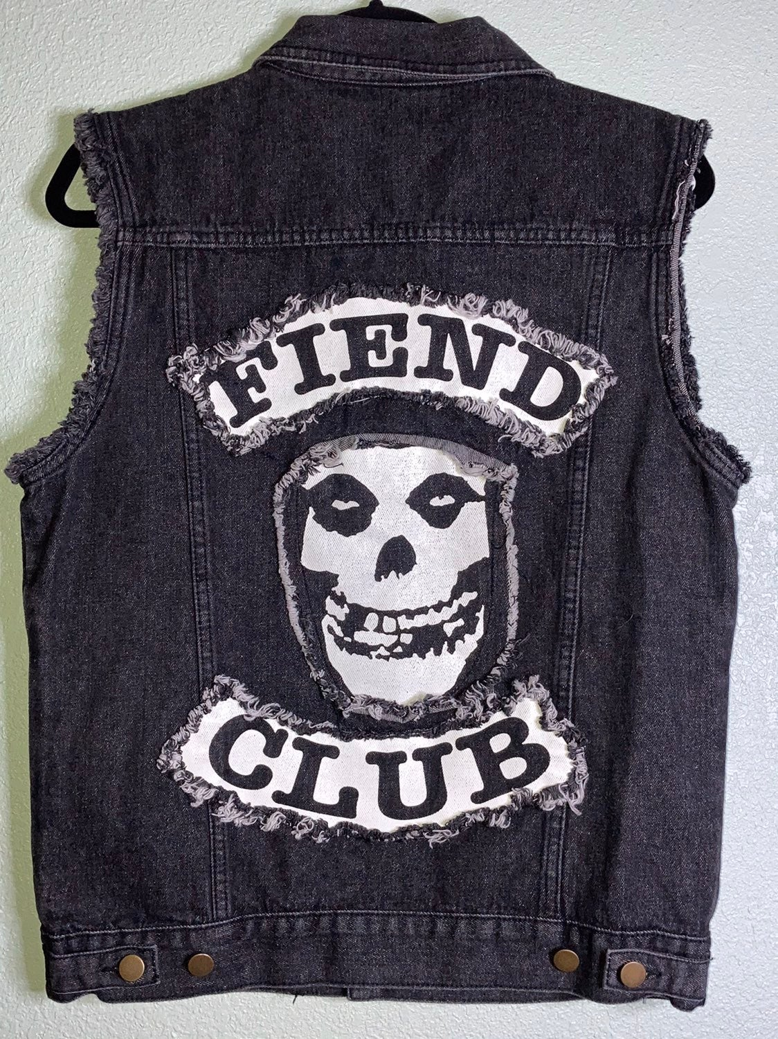 Misfits Fiend Club NWT Small Vest