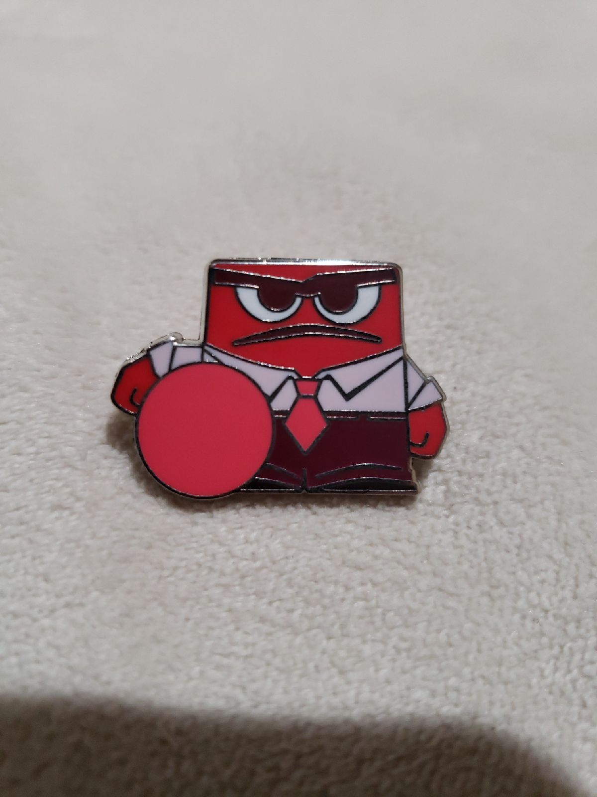 Disney trading pins Anger Inside Out
