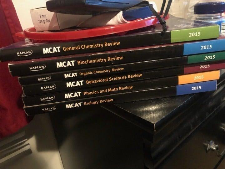 mcat kaplan books 2015