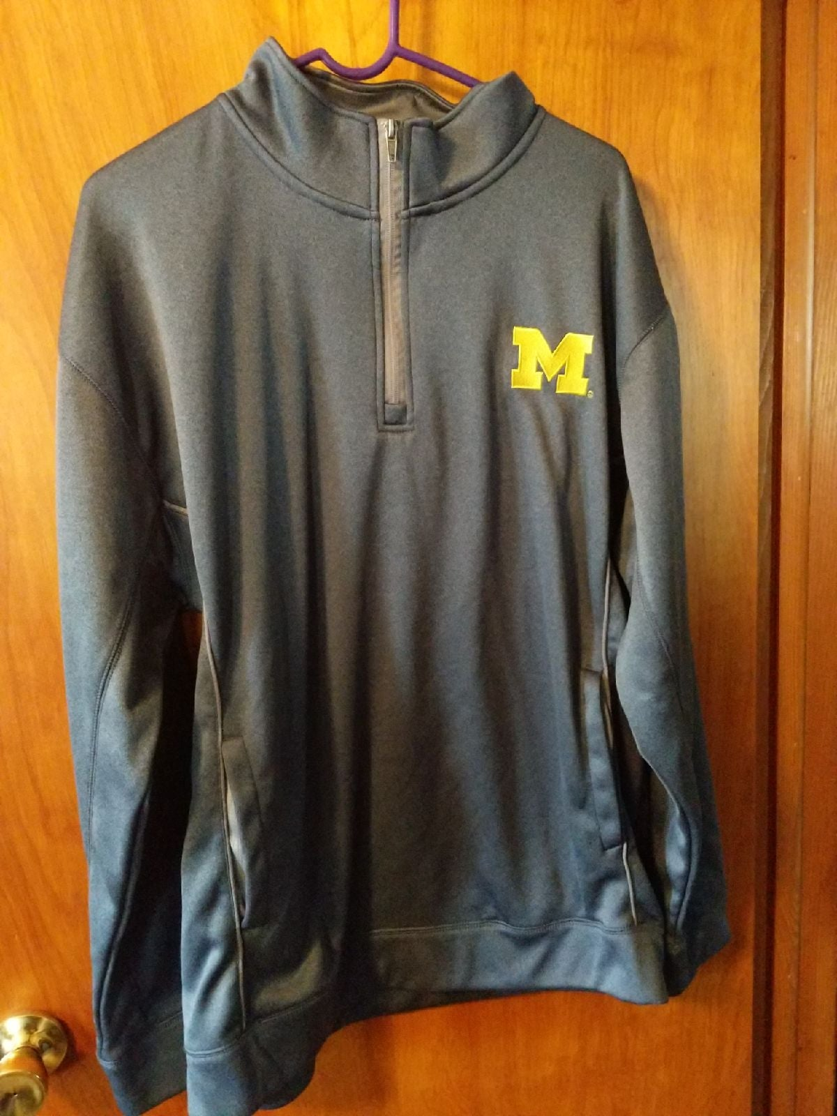 Mens Michigan Pullover sweater size 2x