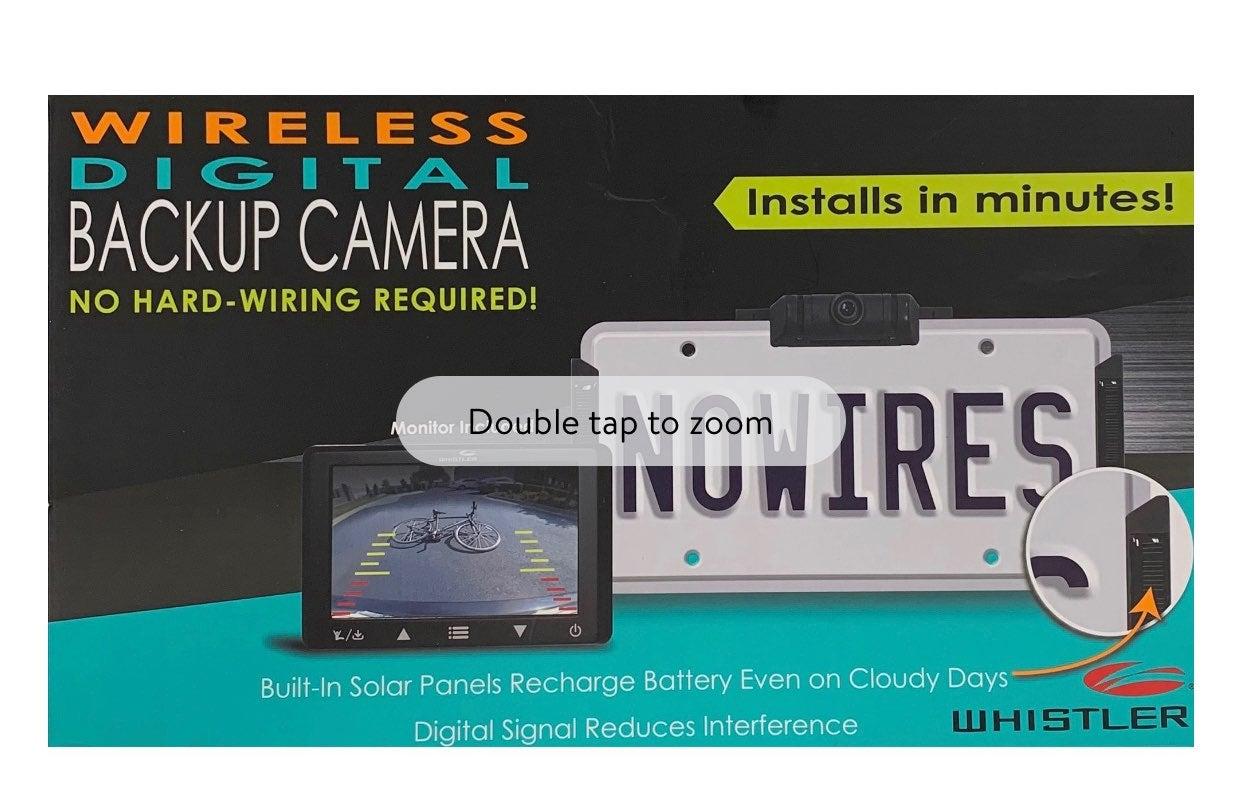 Whistler Wireless Digital Backup Camera