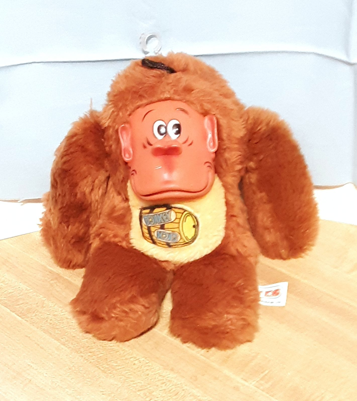 Donkey Kong Plush Doll from 1982