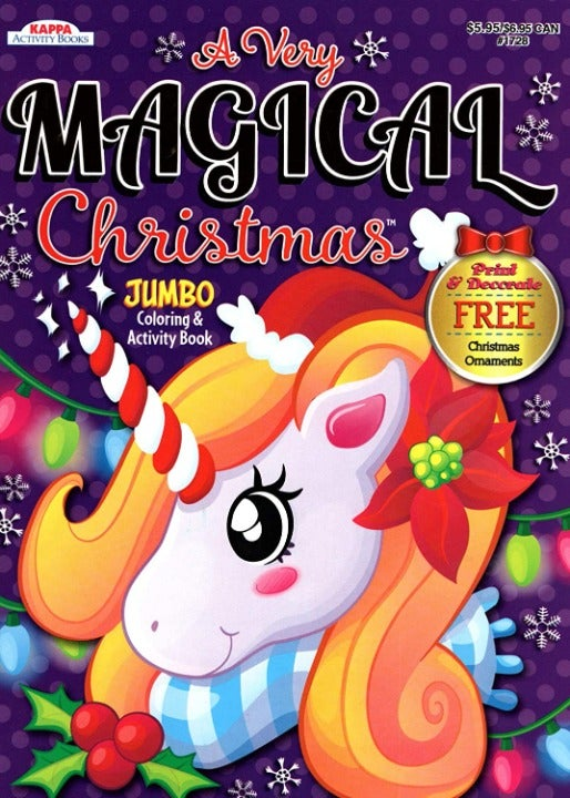 Magical Christmas - Coloring Book