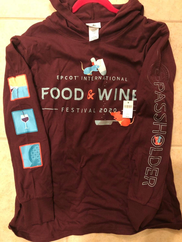 Epcot Food&Wine 2020 Passholder tshirt