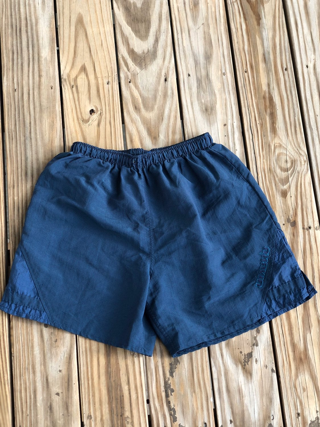 Vintage umbro made in the USA swim trunk