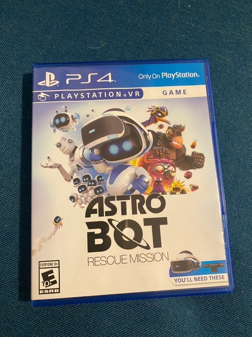 PS4 VR Game Astro Bot
