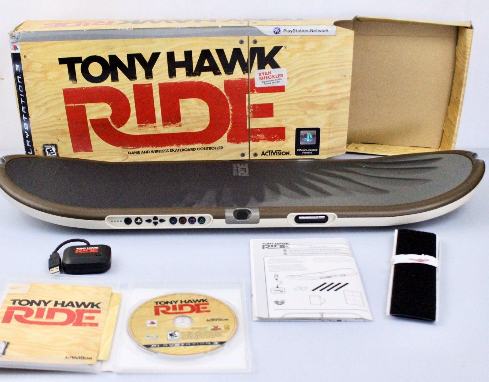 Sony PS3 Tony Hawk RIDE Skateboard Game