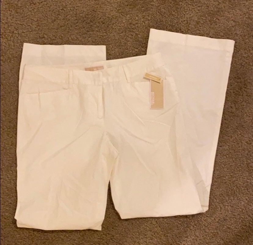 Michael Kors womens white pants - SZ 10