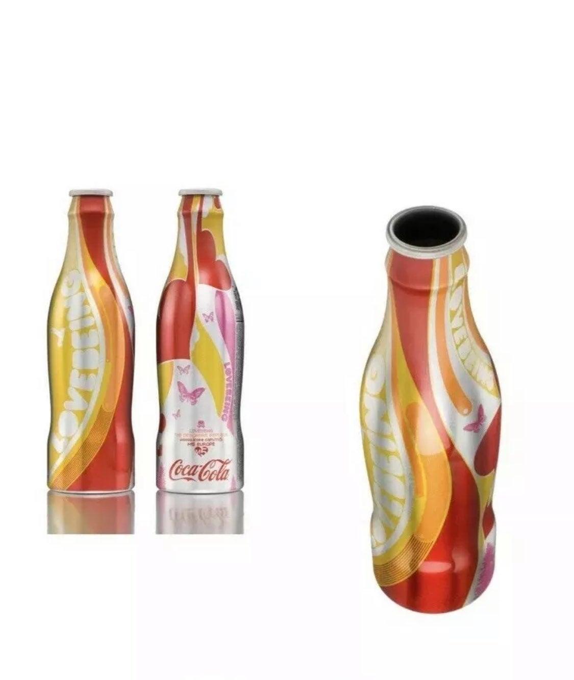 NEW Ltd Ed Love Being Coca-Cola bottle