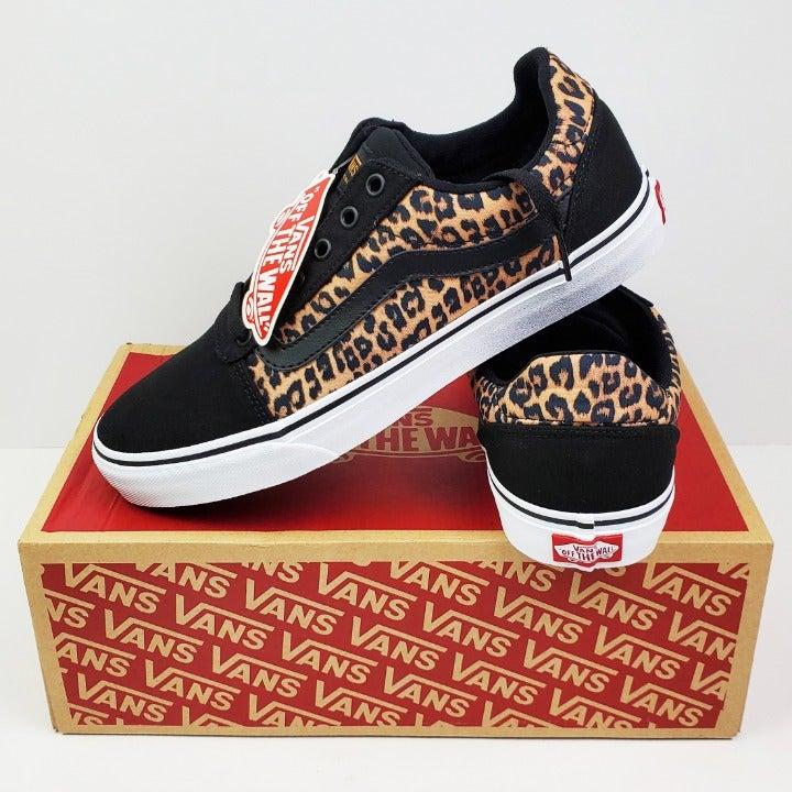 Vans Ward Women's Cheetah Sz 11 Sneakers