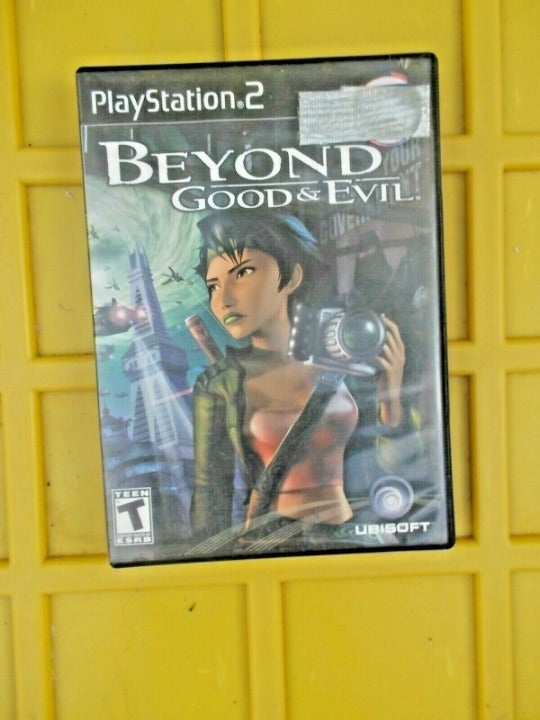 PS2 Game Beyond Good & Evil Rare game