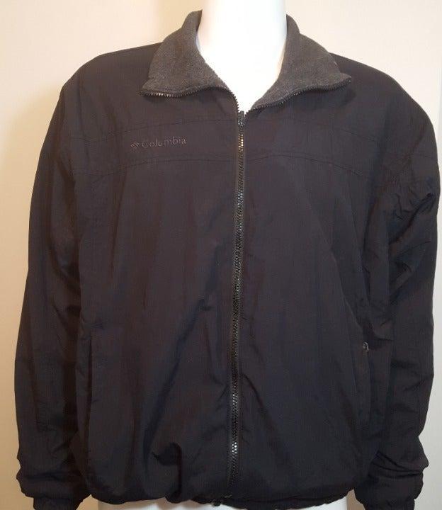 Columbia Fleece Lined Jacket Coat Size L