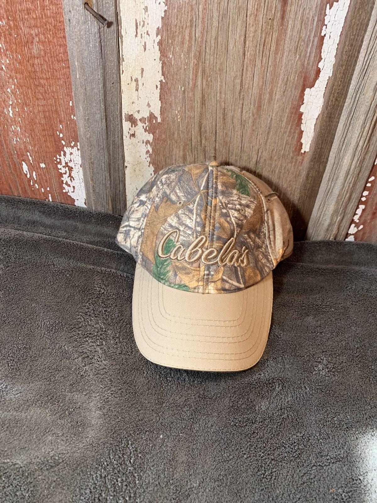 Camo cabelas hat