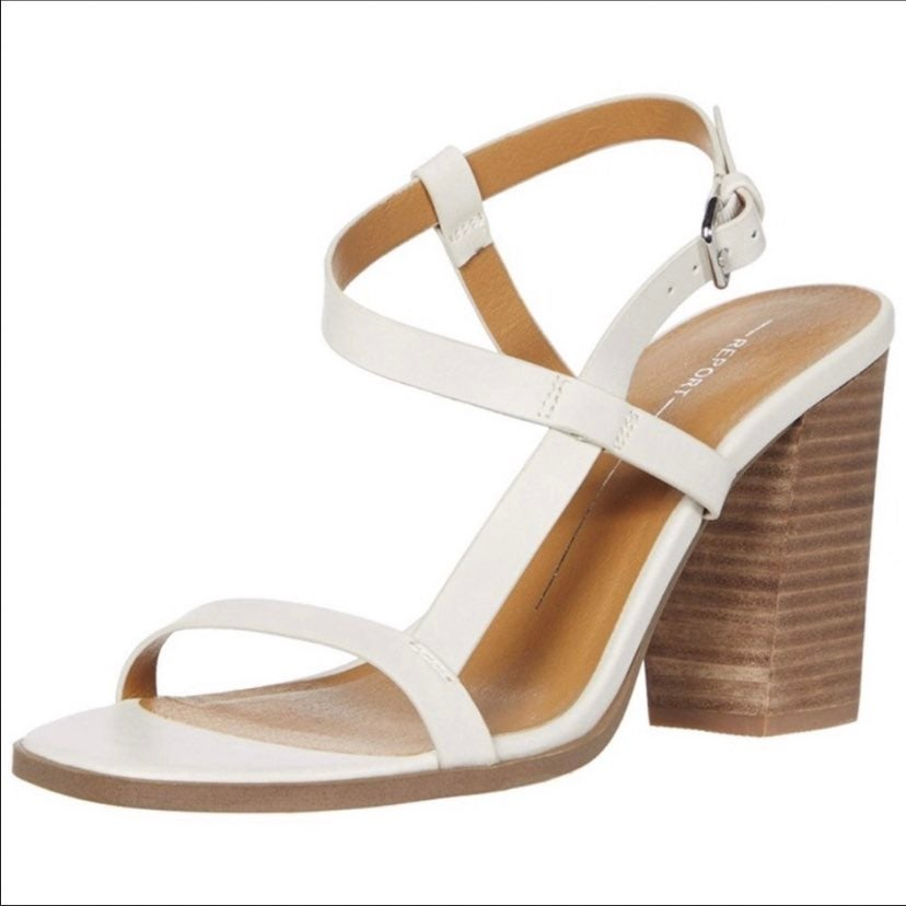 Report Carly Strappy Block Heel Sandal W