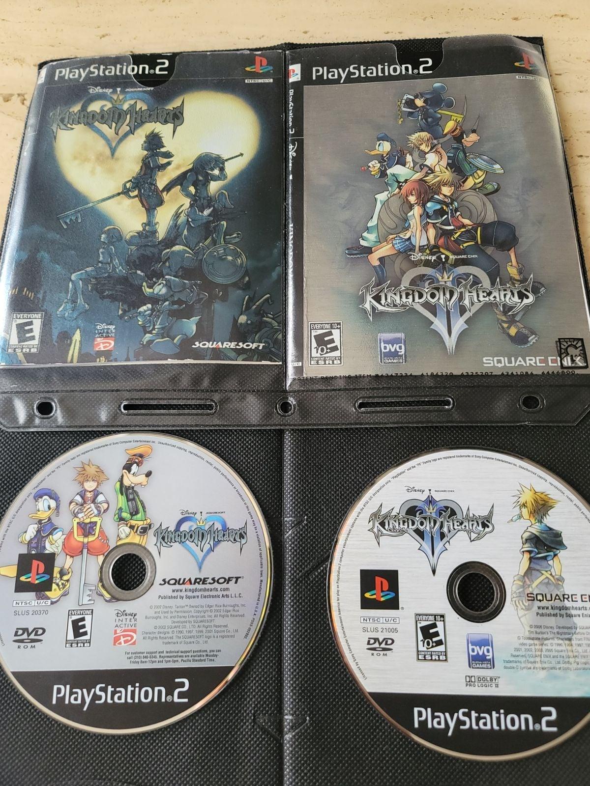Playstation 2 Kingdom Hearts Bundle