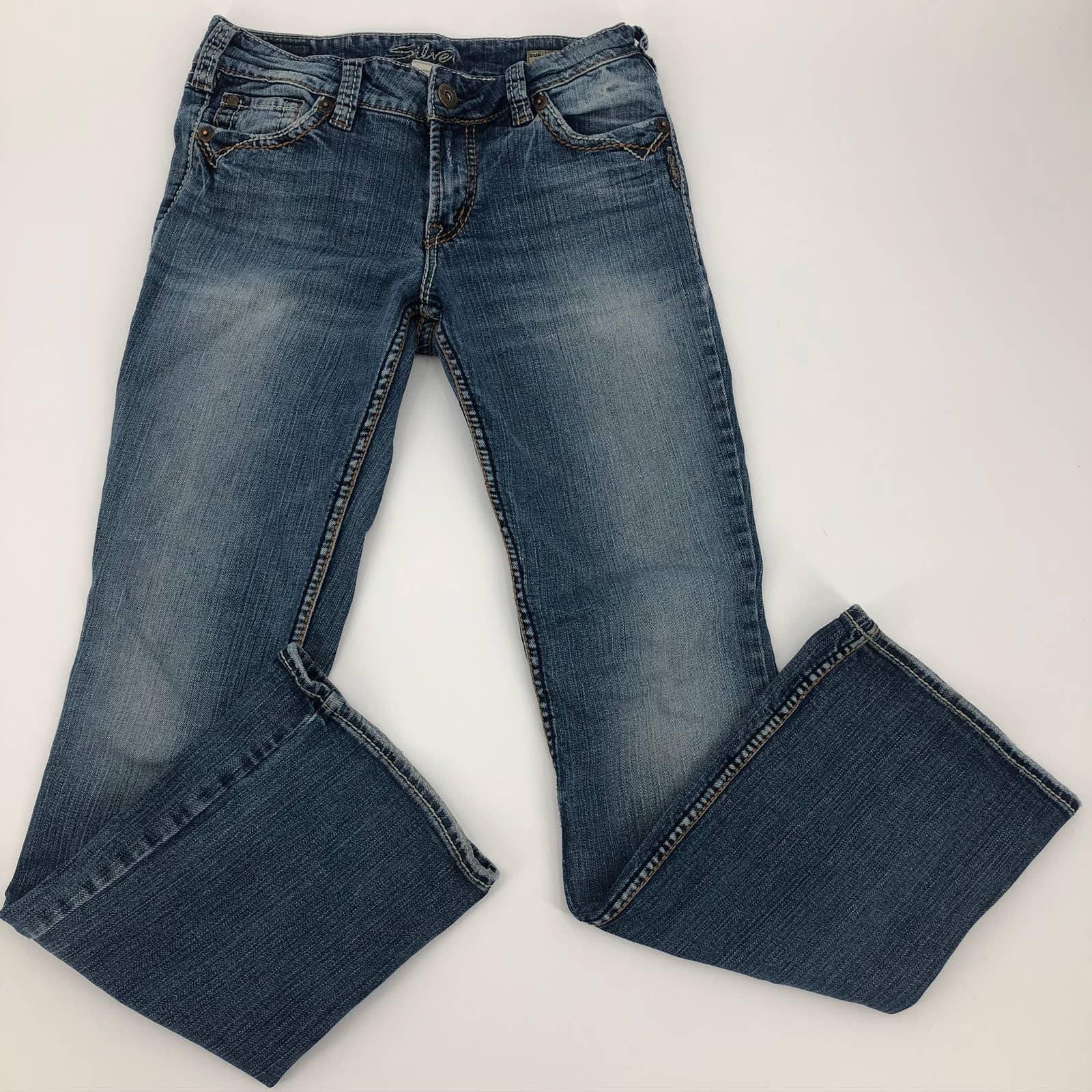 Silver Suki Surplus Bootcut Jeans 27/32