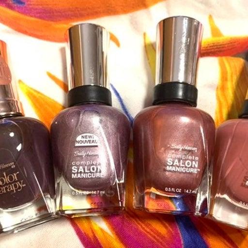 Purple Shades Sally Hansen Polish Bundle