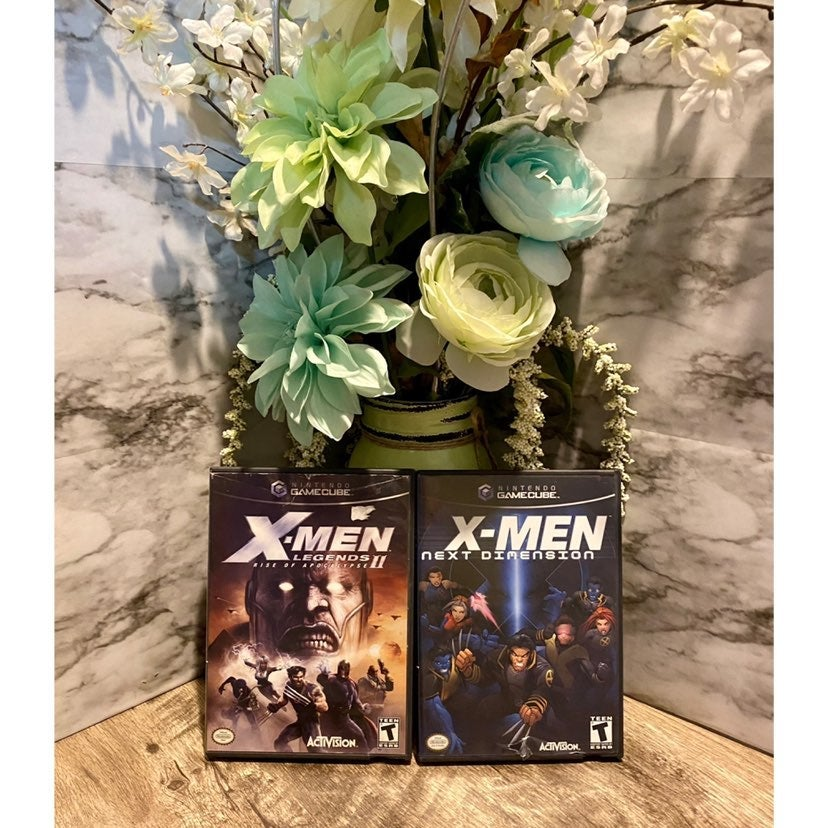 X-men Gamecube Game Bundle