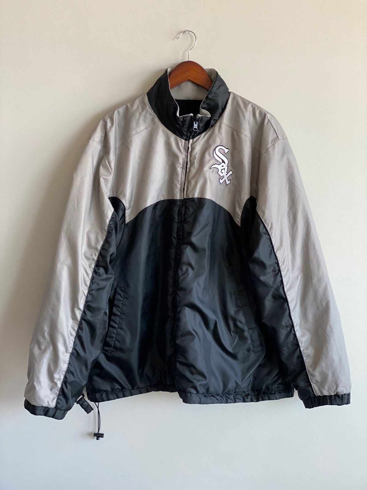 Vtg Chicago White Sox Reversible Jacket