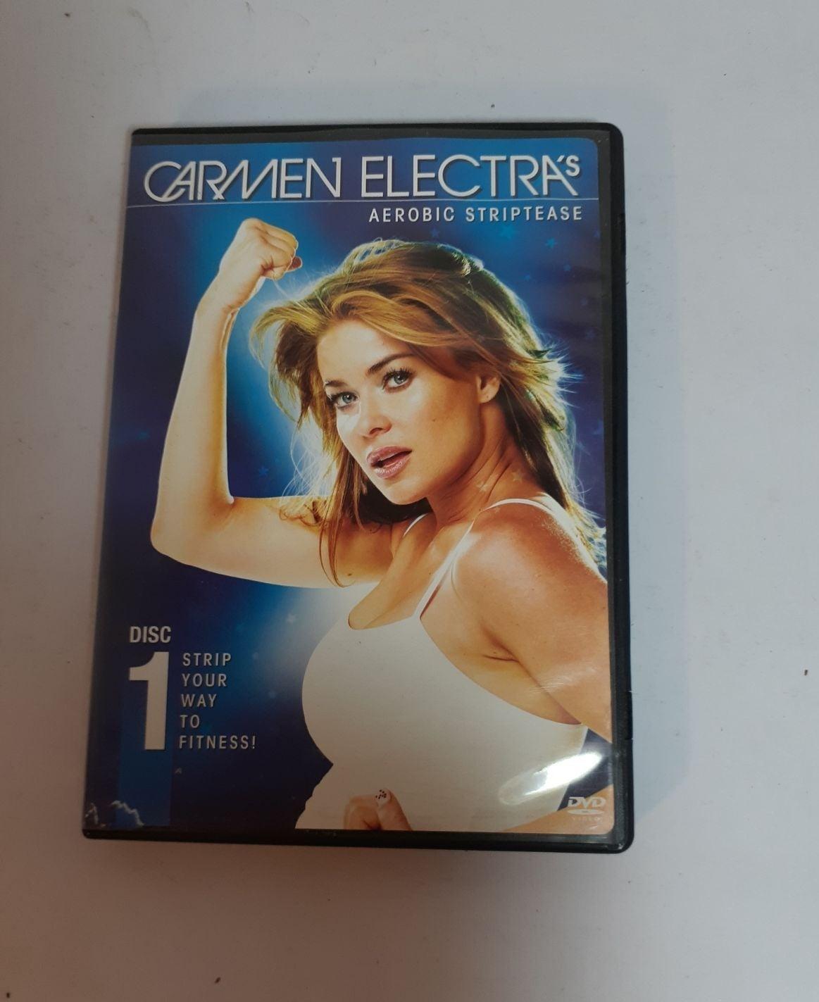 Carmen Electra Aerobic Striptease DVD