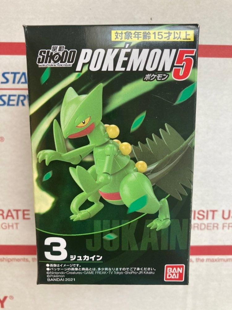 "Pokemon Shodo 3"" Inch Sceptile Figure"